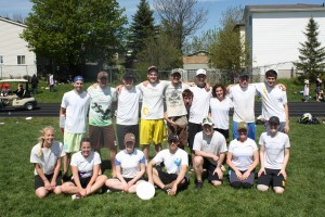 Consolation Division Winners of Soggy 2012